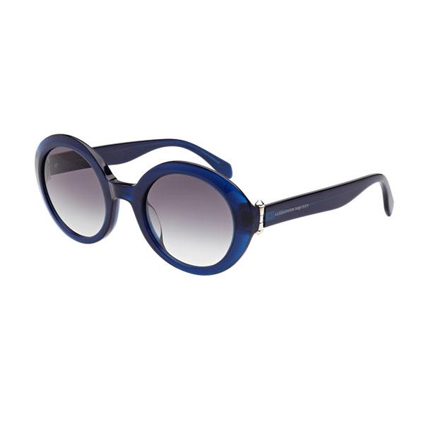 Женские солнцезащитные очки Alexander McQueen AM 0002