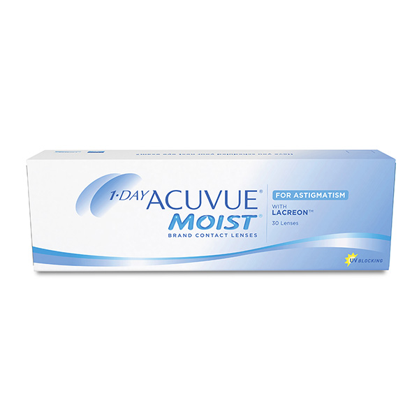 Контактные линзы Johnson&Johnson 1-DAY Acuvue Moist Astigmatism 30 шт.