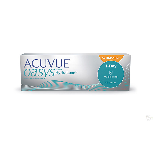 Контактные линзы Johnson&Johnson 1-DAY Acuvue Oasys for ASTIGMATISM 30 шт. (ТРК Мегамаг)