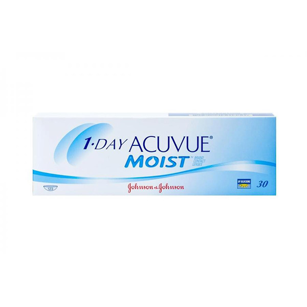 Контактные линзы Johnson&Johnson 1-DAY Acuvue Moist 30 шт.