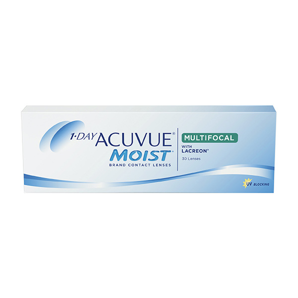 Контактные линзы Johnson&Johnson 1-DAY Acuvue Moist Multifocal 30 шт.