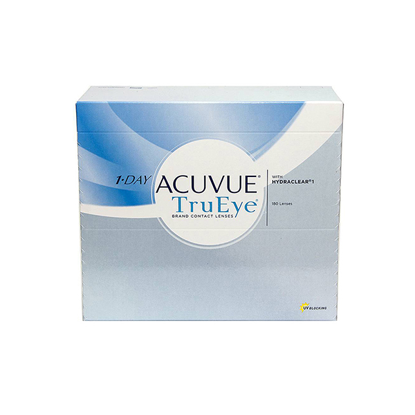 Контактные линзы Johnson & Johnson 1-DAY Acuvue TruEye 180 шт.