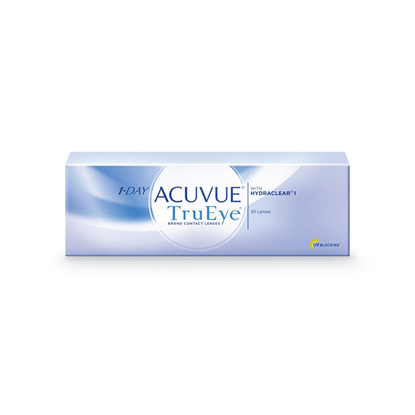 Контактные линзы Johnson&Johnson 1-DAY Acuvue TruEye 30 шт.