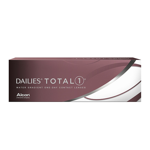 Контактные линзы ALCON DAILIES Total 1 30 шт.
