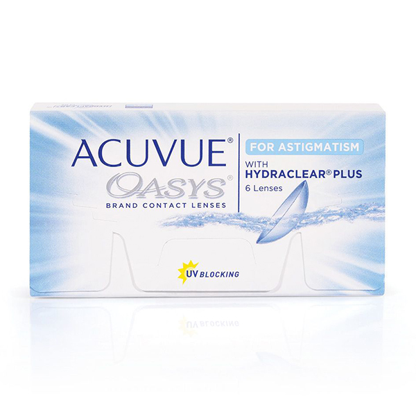 Контактные линзы Johnson&Johnson Acuvue Oasys for ASTIGMATISM 6 шт. (ТРК Мегамаг)
