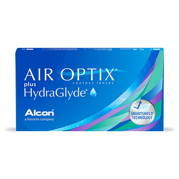 Контактные линзы ALCON Air Optix Hydra glyde 3 шт.