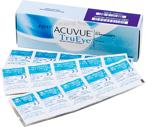 1-Day (Acuvue TruEye) линзы
